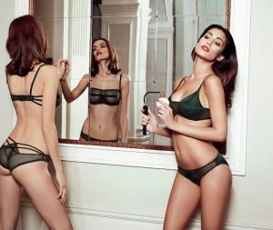 Federica Nargi in lingerie per Goldenpoint-1