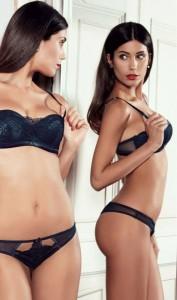 Federica Nargi in lingerie per Goldenpoint-3
