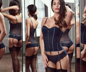 Federica Nargi in lingerie per Goldenpoint-4